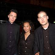 Premiere Constantine, Baas B. en Lange Frans Frederiks en partner Rowena Baierl