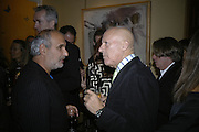 Alan Yentob and Lord Foster, Party for Jean Pigozzi hosted by Ivor Braka to thank him for the loan exhibition 'Popular Painting' from Kinshasa'  at Tate Modern. Cadogan sq. London. 29 May 2007.  -DO NOT ARCHIVE-© Copyright Photograph by Dafydd Jones. 248 Clapham Rd. London SW9 0PZ. Tel 0207 820 0771. www.dafjones.com.