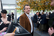 MARK HIX, Opening of Frieze 2009. Regent's Park. London. 14 October 2009 *** Local Caption *** -DO NOT ARCHIVE-© Copyright Photograph by Dafydd Jones. 248 Clapham Rd. London SW9 0PZ. Tel 0207 820 0771. www.dafjones.com.<br /> MARK HIX, Opening of Frieze 2009. Regent's Park. London. 14 October 2009