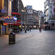 Londra 24 Marzo 2020. Primo giorno di chiusura totale della città per scongiurare il pericoloso contagio da coronavirus COVID-19. La città è completamente vuota come non si era mai vista prima nei giorni feriali.<br /> <br /> London 24 March 2020. The first day of total lockdown in London to fight the coronavirus outbreak COVID-19. The town is totally empty as never was seen before in weekdays.