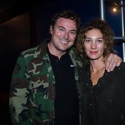 NLD/Hilversum/20130925 -  Sky Radio 25 Year Anniversary Concert, Casper Burgi en partner Barbara