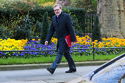 Downing Street, London, March 21st 2017. Scotland Secretary David Mundell attends the weekly cabinet meeting at 10 Downing Street.