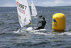Day 4 NeilPryde Laser National Championships 2014 held at Largs Sailing Club, Scotland from the 10th-17th August.<br /> <br /> 203967, Lewis SMITH<br /> <br /> Image Credit Marc Turner