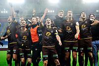 Fotball , Eliteserien<br /> 28.12.2020 , 20201228<br /> Mjøndalen - Sogndal<br /> Mjøndalen jubler etter kampen<br /> Foto: Sjur Stølen / Digitalsport