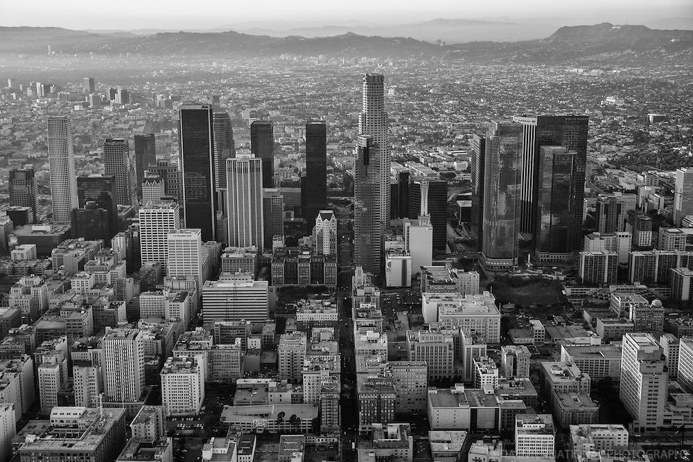 Downtown LA & Santa Monica Mountains