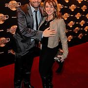 NLD/Amsterdam/20120217 - Premiere Saturday Night Fever, Carlo boszhard en Julie Fryer