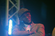 August 25, 2012-Brooklyn, NY: Recording Artist Yasiin Bey aka Mos Def performs  at the Afropunk Festival 2012 held in Brooklyn, NY on August 25, 2012. The Afropunk Festival has become a Brooklyn intuition, the focal point for the burgeoning Afro-punk movement. Over the past seven years, the festival has presented new artists before they hit it big, such as Grammy-nominated Santigold, The Noisettes and Janelle Monae. Afro-punk mainstays like Saul Williams, The Dirtbombs, and Dallas Austin have also graced Afro-punk's stages. (Terrence Jennings/TerrenceJennings.com)