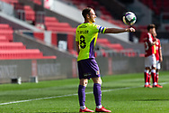 Exeter City's Jake Taylor (8) in action during the EFL Cup match between Bristol City and Exeter City at Ashton Gate, Bristol, England on 5 September 2020.