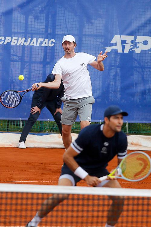 Tennis-ATP Serbia Open Belgrade 2021-<br /> Marcelo Arevalo (ESA)-Matwe Middelkoop (NED) v Tomislav Brkic (BIH)-Nikola Cacic (SRB)<br /> Beograd, 21.04.2021.foto: Srdjan Stevanovic/Starsportphoto ©
