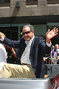 Ron Marachal at the Major League Baseball All-Stars and 49 Hall of Famers ride up Sixth Avenue in All Star-Game Red Carpet Parade Presented by Chevy on July 15, 2008