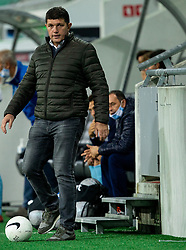 Gordan Petric, head coach of Gorica during football match between NK Olimpija and ND Gorica in 1st Round of Prva liga Telekom Slovenije 2020/21, on September 30, 2020 in SRC Stozice, Ljubljana, Slovenia. Photo by Vid Ponikvar / Sportida