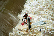 River rescue training. 1998 (The Bloomington Herald-Times/Jeremy Hogan)
