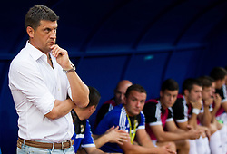 Vladan Milojevic, head coach of FK Cukaricki during 1st Leg football match between NK Domzale (SLO) na FC Cukaricki (SRB) in 1st Round of Europe League 2015/2016 Qualifications, on July 2, 2015 in Sports park Domzale,  Slovenia. Photo by Vid Ponikvar / Sportida
