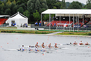 Eton. Great Britain. USA JM4+,  B Final, FISA Junior  World Rowing Championships. Dorney Lake, Nr Windsor. Saturday, 06/08/2011 [Mandatory credit: Intersport Images]