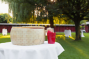 party outdoors, tasty appetizer, form of parmesan