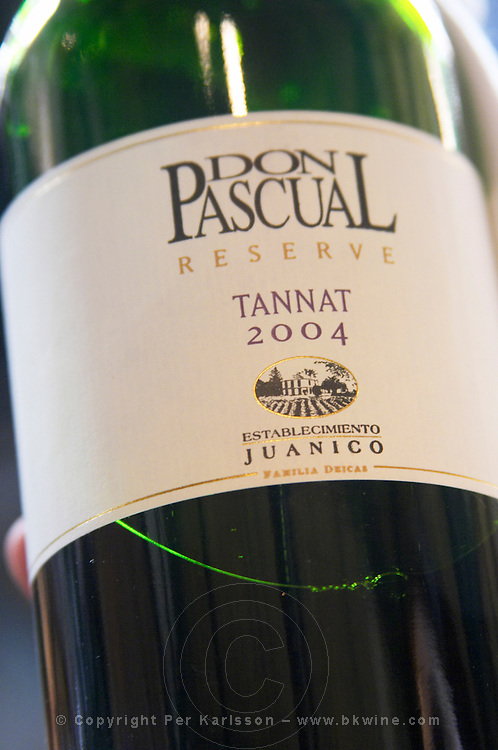 Bottle of Don Pascual Reserve Tannat 2004 Bodega Juanico Familia Deicas Winery, Juanico, Canelones, Uruguay, South America