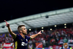 September 13, 2017 - Maribor, Slovenia, Slovenia - Damjan Bohar of NK Maribor celebrate goal during the UEFA Champions League Group E match between NK Maribor and Spartak Moskva at Stadion Ljudski Vrt adio on September 13, 2017 in Maribor, Slovenia. (Credit Image: © Damjan Zibert/NurPhoto via ZUMA Press)