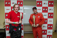 2WD Podium, Troy Dowel, Michael Coyne - Rallycross Australia - Rnd 1 - February 26th 2017. MARULAN DIRT & TAR CIRCUITS, MARULAN, NSW