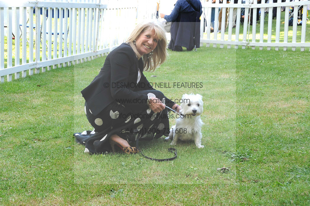 INGRID SEWARD and her dog Puff at the Macmillan Dog Day in aid of Macmillan Cancer Support held at the Royal Hospital Chelsea, London on 8th July 2008.<br /><br />NON EXCLUSIVE - WORLD RIGHTS