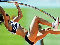 Friidrett, 28. juli  2010 ,<br /> EM Barcelona<br /> <br /> European Athletics Championships<br /> Barcelona<br /> <br /> Kate Dennion , GBR Pole Vault<br /> <br /> Foto: Anders Hoven , Digitalsport