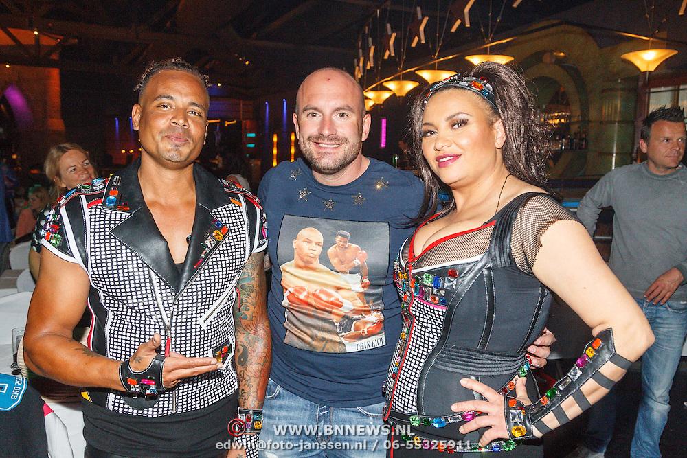 NLD/Aalsmeer/20150509 - Opname Nederland Muziekland, 2 Unlimited, Ray Slijngaard en Anita Doth en Dean Saunders