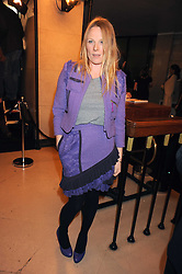 LUELLA BARTLEY at the 2008 British Fashion Awards held at the Lawrence Hall, Westminster, London on 25th November 2008.