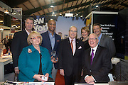 21/1/16  US Ambassador Kevin O'Malley at the New York City stand at the Holiday World Show in the RDS in Dublin. Picture: Arthur Carron