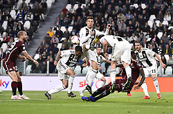 May 3, 2019 - Torino, Torino, Italia - Foto LaPresse - Fabio Ferrari.03 Maggio 2019 Torino, Italia .Sport.Calcio.ESCLUSIVA TORINO FC.Juventus Fc vs Torino Fc - Campionato di calcio Serie A TIM 2018/2019 - Allianz Stadium..Nella foto:Cristiano Ronaldo (Juventus F.C.); ..Photo LaPresse - Fabio Ferrari.May 03, 2019 Turin, Italy.sport.soccer.EXCLUSIVE TORINO FC.Juventus Fc vs Torino Fc - Italian Football Championship League A TIM 2018/2019 - Allianz Stadium..In the pic:Cristiano Ronaldo  (Credit Image: © Fabio Ferrari/Lapresse via ZUMA Press)