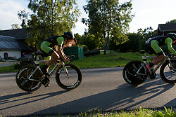 Dani King at the Crescent Vargarda - a 42.5 km team time trial, starting and finishing in Vargarda on August 11, 2017, in Vastra Gotaland, Sweden. (Photo by Sean Robinson/Velofocus.com)