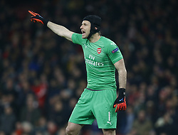 March 14, 2019 - London, England, United Kingdom - Petr Cech of Arsenal of Arsenal.during Europa League Round of 16 2nd Leg  between Arsenal and Rennes at Emirates stadium , London, England on 14 Mar 2019. (Credit Image: © Action Foto Sport/NurPhoto via ZUMA Press)