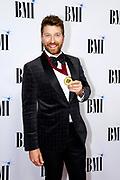 Brett Eldridge arrives at the BMI Awards at BMI Nashville on Tuesday, Nov. 7, 2017, in Nashville, Tenn. (Photo by Wade Payne/Invision/AP)