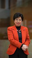 DEU, Deutschland, Germany, Berlin, 09.10.2015: Portrait Dr. Margaret Chan, Generaldirektorin der Weltgesundheitsorganisation (WHO).