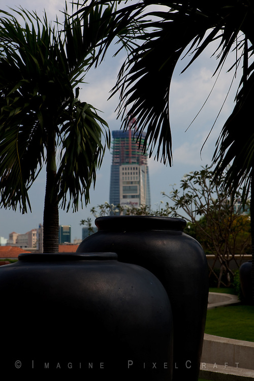 The Ho Chi Minh City skyline. Growth and opportunity in South East Asia