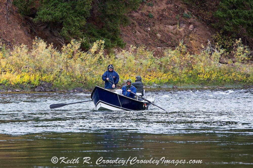 Drift Boat Fly Fishing on the Blackfoot River