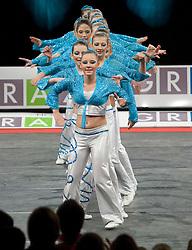 04.12.2010, Stadthalle, Graz, AUT, Rock 'n' Roll Europameisterschaft Girls Formation 2010, im Bild Hot Rock Girls (AUT) , EXPA Pictures © 2010, PhotoCredit: EXPA/ Erwin Scheriau