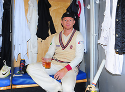 Chris Rogers of Somerset , who retired today poses for photo.  - Mandatory by-line: Alex Davidson/JMP - 22/09/2016 - CRICKET - Cooper Associates County Ground - Taunton, United Kingdom - Somerset v Nottinghamshire - Specsavers County Championship Division One