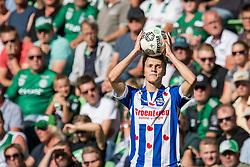 Martin Odegaard of sc Heerenveen during the Dutch Eredivisie match between FC Groningen and sc Heerenveen at Noordlease stadium on August 13, 2017 in Groningen, The Netherlands