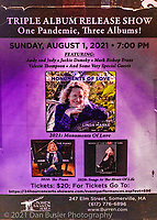 Linda Marks and her band at The Burren in Somerville MA for her triple album release show on August 1, 202