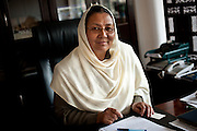 Bamiyan Governor Habiba Surabi, the first female provincial governor in Afghanistan.
