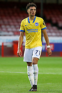 Brighton and Hove Albion defender Antef Tsoungui (71) portrait during the EFL Trophy Southern Group G match between AFC Wimbledon and Brighton and Hove Albion U21 at The People's Pension Stadium, Crawley, England on 22 September 2020.