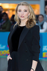 © Licensed to London News Pictures. 04/04/2016. NATALIE DORMER attends The Rolling Stones Exhibition Private at The Saatchi Gallery. London, UK. Photo credit: Ray Tang/LNP