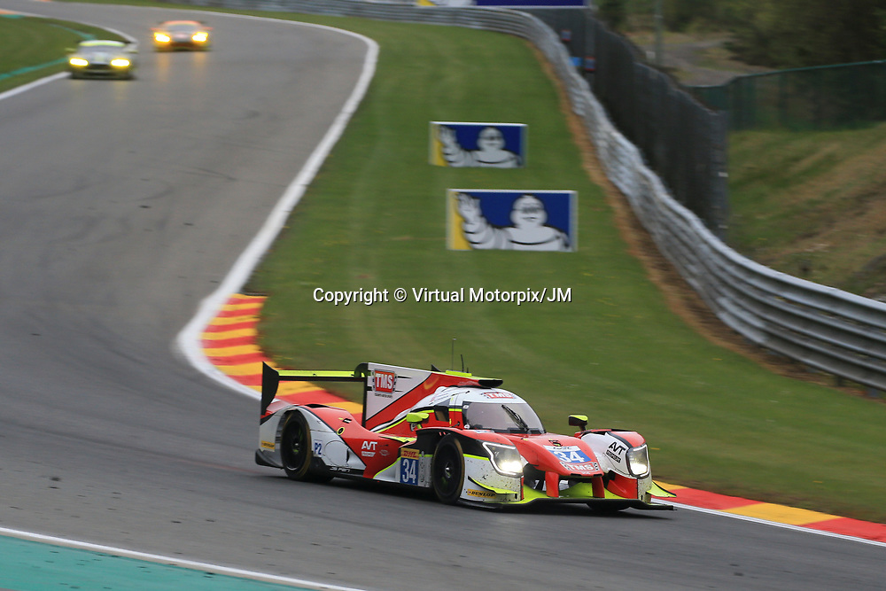 #34  Tockwith Motorsports, Ligier JSP217-Gibson, driven by, Nigel Moore, Philip Hanson, Karun Chandhock, FIA WEC 6hrs of Spa 2017, 06/05/2017,