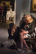 KATHERINE CARROLL; ALEXANDRA SHANAHAN, <br /> Town and Country June issue launch. Sothebys, New Bond St. London 26 June 2015
