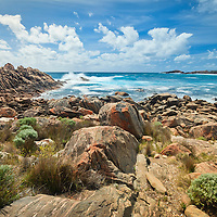 Injidup beach, located in Australia's south west close to the famous Margaret River wine region.