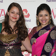 London, UK. 10th May 2017. A host of celebrities and guests attends The Asian Women of Achievement Awards 2017 at the London Hilton on Park Lane Hotel. Photo by See li Credit: See Li