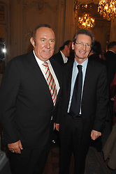 Left to right, ANDREW NEIL and DAVID MONTGOMERY at a party to celebrate the publication of 101 World Heroes by Simon Sebag-Montefiore at The Savile Club, 69 Brook Street, London W1 on 9th October 2007.<br /><br />NON EXCLUSIVE - WORLD RIGHTS