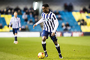 Millwall midfielder Fred Onyedinma (10) during the EFL Sky Bet League 1 match between Millwall and Peterborough United at The Den, London, England on 28 February 2017. Photo by Sebastian Frej.