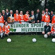 SV Loosdrecht Dames met nieuwe shirts sponsor