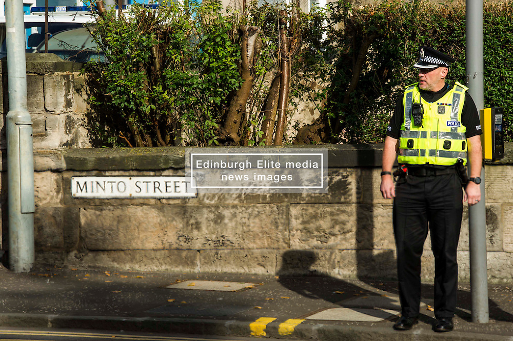 """Pictured: Inspector Graeme Nisbet<br /> <br /> Police in Edinburgh have launched a fresh appeal for information following an indecent assault over the weekend.<br /> <br /> A 19-year-old woman was attacked in Salisbury Place as she was walking home at around 2.50 a.m. on Sunday 2nd October.<br /> <br /> The victim fought the suspect off, who then made off towards Minto Street and inquiries to trace this male are continuing.<br /> <br /> He is described as white, early thirties, 6ft tall with a large build and dark hair. He was wearing a red kilt, calf-high boots and a dark hooded top with numbers on the front.<br /> <br /> Following information from the public, detectives have established that the male visited the Marchmont Takeaway on Marchmont Road sometime between 7 p.m. and 9 p.m. on Saturday 1st October and anyone else who believes they may have information that can help identify him is urged to come forward.<br /> <br /> It has also been confirmed that the male walked from the city centre southwards along Newington Road, towards Salisbury Place.<br /> <br /> Detective Inspector Donnie MacLeod from the Public Protection Unit at Fettes said: """"Since the attack took place we have been conducting various inquiries in and around Salisbury Place to trace witnesses and establish the movements of the suspect before and after the incident.<br /> <br /> """"We are now satisfied that he was within the Marchmont area on Saturday evening before carrying out the attack, during which time he walked towards Salisbury Place from the direction of the city centre. <br /> <br /> """"I would ask anyone who believes they may have seen this individual on Saturday night, or the early hours of Sunday morning, or who knows where we can find him should contact police immediately.<br /> <br /> """"In addition, anyone with any further information relevant to this investigation is also asked to get in touch.""""<br /> <br /> Police have also increased patrols within the area and will have a high-visibi"""