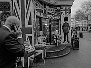 Souvenier shop,  High Holborn, London. 28 January 2016